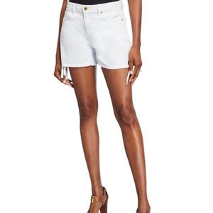 Micheal Kors Side-tie Jean Shorts